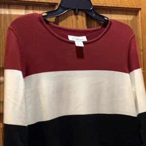 J howard fall dress knit